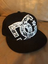 DC fitted hat 7 1/4 new in Joliet, Illinois