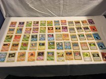 x60 mixed random lot pokemon trading card game official playing cards  02048 in Huntington Beach, California