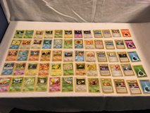x60 mixed childrens pokemon trading card game official playing cards  02050 in Huntington Beach, California