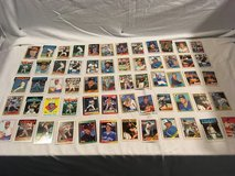 x60 official major league baseball vintage mixed lot trading playing cards  02094 in Huntington Beach, California