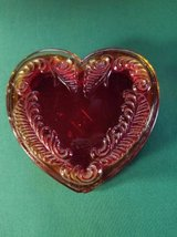Boyd Glass Vintage heart shaped Trinket/jewelry box in Temecula, California
