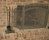 Heavy Duty Fireplace Tools - BRASS Handles in Bolingbrook, Illinois