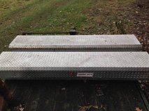 (2) TRUCK TOOL BOXES  SIDE MOUNT  LOW-PROFILE  WEATHERGUARD  ALUMINUM in Naperville, Illinois