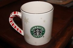 starbucks barista christmas mug snowflake/mermaid 2001 in Kingwood, Texas