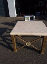 Terracotta Slab Table Side Table Coffee Table in Roseville, California