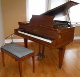 Antique Chickering Grand Piano w/padded Bench ~ Beauty in Naperville, Illinois