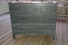 Antique Solid Wood Maple Dresser by The Company of Master Craftsmen in The Woodlands, Texas