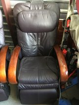human touch technology black leather wooden arm rests heated massage chairs  02333 in Fort Carson, Colorado