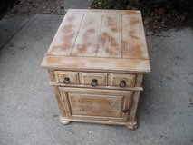 HIGH END  NIGHT STAND / END TABLE ALL WOOD--REDUCED in Tinley Park, Illinois