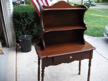 VINTAGE ALL WOOD HUTCH--REDUCED in Tinley Park, Illinois
