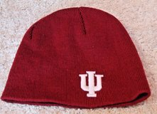 Indiana Hoosiers Crimson Red Knit Beanie Cap, Embroidered Letters/Logo, One Size in Westmont, Illinois