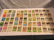x60 mixed random lot pokemon trading card game official playing childrens cards  02047 in Huntington Beach, California