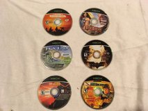 microsoft xbox six games: conflict desert storm, jade empire, halo, / more  02133 in Huntington Beach, California