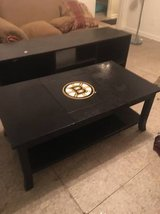Boston Bruins Coffee Table in Columbus, Georgia