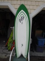 Surfboard > 6'4 QUAD FISH/HAS BEEN PRO FIXED in Wilmington, North Carolina