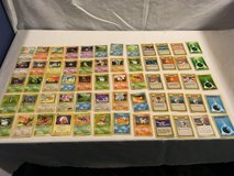 x60 mixed lot childrens pokemon trading card game official playing cards  02051 in Huntington Beach, California