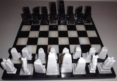 Onyx Chess Set in Orland Park, Illinois