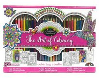 New! Cra-Z-Art Timeless Creations Art Of Coloring 32pc Adult Creative in Naperville, Illinois