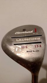 Cleveland Launcher 1 Wood, 3 Wood, 5 Wood - Men's Right Handed - Stiff in Bartlett, Illinois