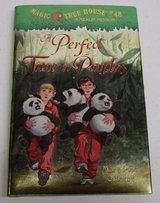 Magic Tree House #48 A Merlin Mission A Perfect Time For Pandas Hard Cover w Dust Jacket in Joliet, Illinois