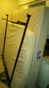 king mattress, smaller under cushion matt and frame in Lawton, Oklahoma