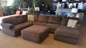 JESSA PLACE CHOCOLATE SECTIONAL in Schofield Barracks, Hawaii