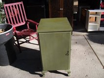 GREEN ALL WOOD VINTAGE CABINET in Tinley Park, Illinois
