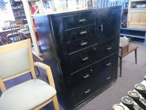 Sleek Metal Dresser in Naperville, Illinois