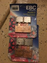 two ebc sintered brake pads kawasaki ninja zx 6r 600 2007-2014 fa417/4hh in Hemet, California