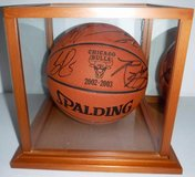 Chicago BULLS 2002-2003 Official Game Autographed Basketball in Westmont, Illinois