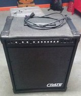 80 Watt Combo Amp x/ Reverb for Keyboard/Bass/Electric Guitar/Drums in Lockport, Illinois