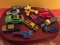 lot of 45 diecast plastic mixed cars small toys in Chicago, Illinois