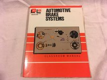 automotive brake systems classroom manual diagnosis / service college textbook  02008 in Fort Carson, Colorado