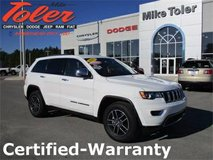 2017 Jeep Grand Cherokee Limited-Certified-Warranty(Stk#p2203) in Cherry Point, North Carolina