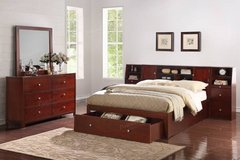 QUEEN or California KING Storage Bed Frame FREE DELIVERY starting in Oceanside, California