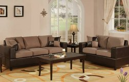 New! Tan Microfiber Sofa and Loveseat FREE DELIVERY in Camp Pendleton, California