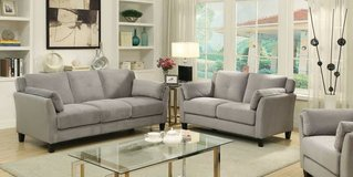 New Ysabel Grey Flannelette Sofa FREE DELIVERY in Camp Pendleton, California