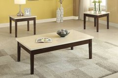Cream colored Coffee Table and 2 End Tables DELIVERY in Miramar, California