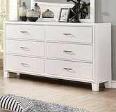 New Enrico White Dresser  FREE DELIVERY in Camp Pendleton, California