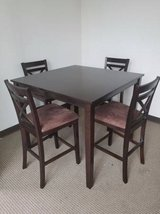 New! Espresso Counter Height Table + 4 Chairs Set FREE DELIVERY in Miramar, California