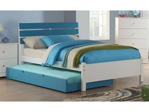 New Twin Bed Frame and Trundle Bed Frame (blue or pink) FREE DELIVERY in Camp Pendleton, California