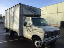 FORD ECONOLINE E-350 WHITE BOX TRUCK in Fort Lewis, Washington