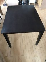 "Dark Brown 48"" x 36"" Dining Table in Plainfield, Illinois"