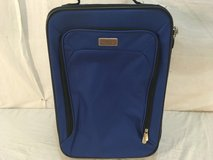 protege tsa regulation blue 13 x 8.5 x 19 rolling extendable handle luggage  01783 in Huntington Beach, California
