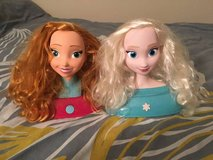 Frozen Disney Anna and Elsa Styling Heads in Shorewood, Illinois