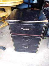 Black wood dresser drawers in Roseville, California