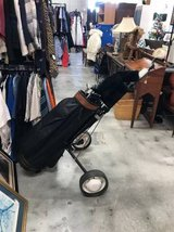 Set of Golf Clubs, Bag, and Rolling Carrier in Camp Lejeune, North Carolina