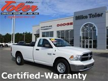 2016 Ram 1500 Tradesman-Certified-Warranty(Stk#14870a) in Cherry Point, North Carolina