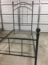 Vintage Metal Twin Size Bed Frame in Travis AFB, California