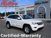 2017 Jeep Grand Cherokee Laredo-Certified-Warranty(Stk#p2202) in Cherry Point, North Carolina